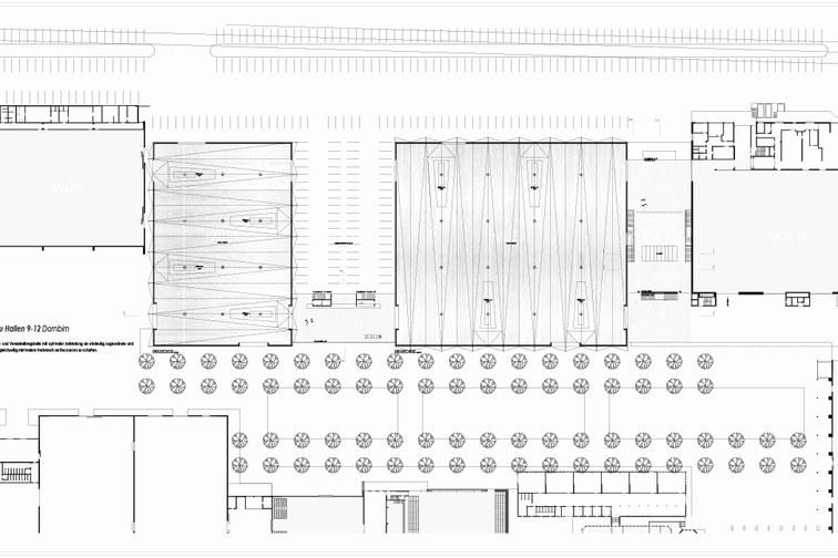 2. Preis Neubau Messehalle 9-12 Dornbirn