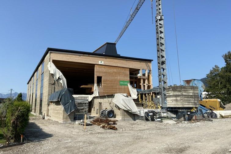 Produktionshalle für Lehm.Ton.Erde