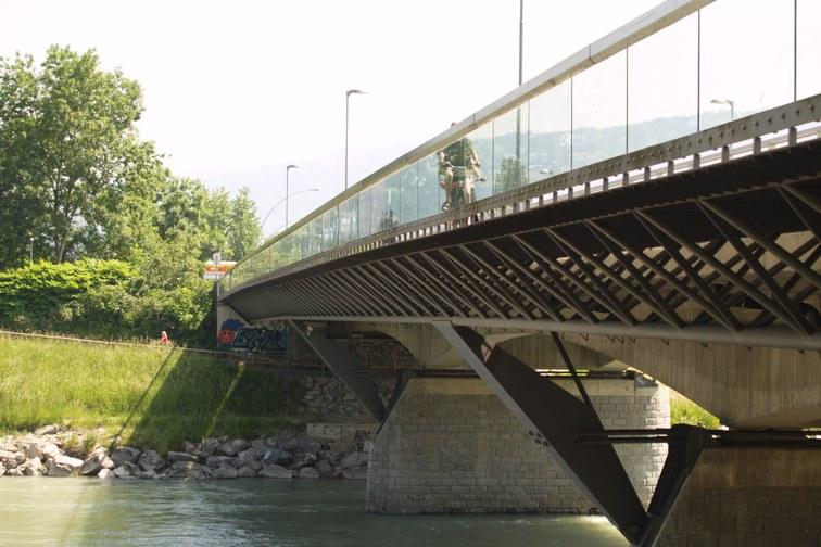 Radwegbrücke Bregenz - Hard