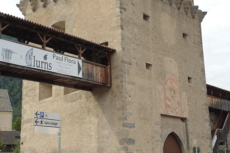 Tourismus-Informationspavillon Tauferer Torturm