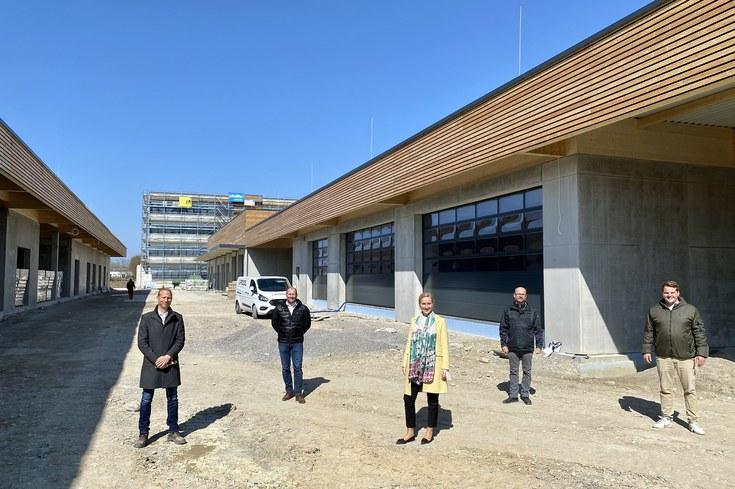 Neubau der GTL Lindau im Zeit- und Kostenplan